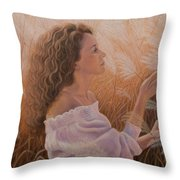 Gentle On My Mind Throw Pillow