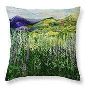 Gentle Shadows Throw Pillow