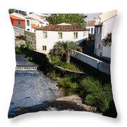 Gentle Stream Of Water Throw Pillow