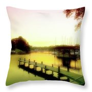 Gentle Whispers Throw Pillow