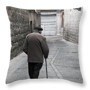 Gentleman Of Avila Throw Pillow