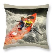 ......gently Down The Stream... Throw Pillow