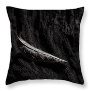 Gently Resting Throw Pillow