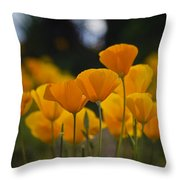 Gently Swaying In The Wind  Throw Pillow