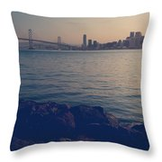 Gently The Evening Comes Throw Pillow