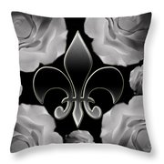 Genuine Noblesse Digital Painting Throw Pillow