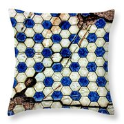 Geographic Tile Throw Pillow
