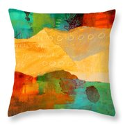 Geography Throw Pillow