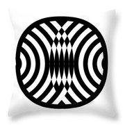 Geomentric Circle 4 Throw Pillow