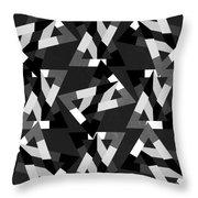Geometric 12 Throw Pillow by Mark Ashkenazi