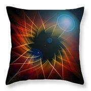 Geometric 7  Throw Pillow by Mark Ashkenazi