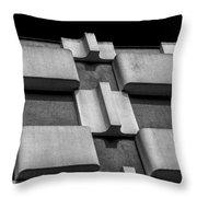 Geometric Building Throw Pillow