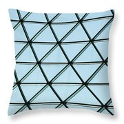 Geometric Charm Throw Pillow by Christi Kraft