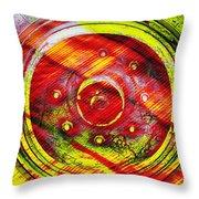 Geometric Colors  Throw Pillow