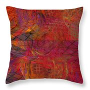 Geometric Daydreams Throw Pillow