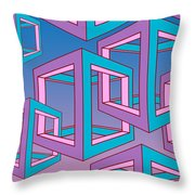 Geometric  Throw Pillow by Mark Ashkenazi