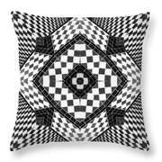 Geometric Progression Throw Pillow