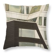 Geometric Shapes In Architecture Throw Pillow