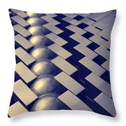 Geometric Shapes Of Gold Throw Pillow