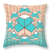 Geometric2 Throw Pillow