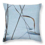 Geometry Grass Throw Pillow