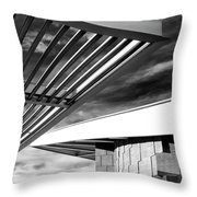 Geometry Lesson Palm Springs Tram Station Throw Pillow