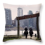Geometry Matters Throw Pillow