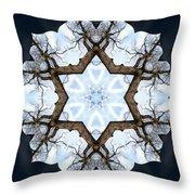 Geometry Tree Throw Pillow