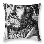 Georg Witzel (1501-1573) Throw Pillow