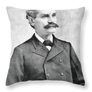 George Bidwell (1837-1899) Throw Pillow