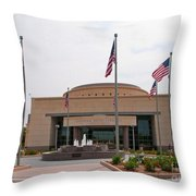 George Bush Presidential Library Throw Pillow