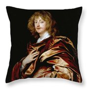 George Digby Throw Pillow