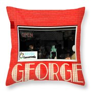 George Diner Throw Pillow
