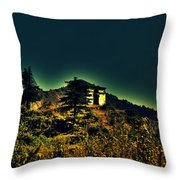 George Everest Observatory Throw Pillow
