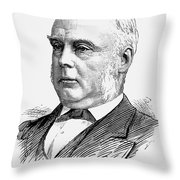 George Glyn (1824-1887) Throw Pillow