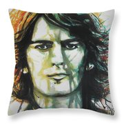 George Harrison 01 Throw Pillow