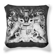 George IIi: Coat Of Arms Throw Pillow