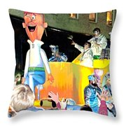 George Jetson Poster Throw Pillow