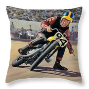 George Roeder 1965 Throw Pillow