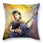 George Thorogood In Cazorla In Spain 02 Throw Pillow