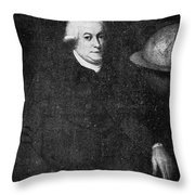 George Vancouver (1757-1798) Throw Pillow