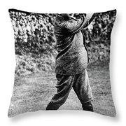 George Vi (1895-1952) Throw Pillow