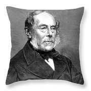 George Villers (1800-1870) Throw Pillow