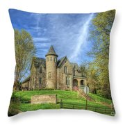 George W. Campbell Home Throw Pillow