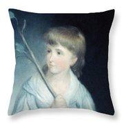George W Throw Pillow