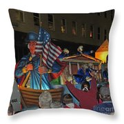 George Washington Throw Pillow