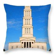 George Washington Masonic National Memorial  Throw Pillow