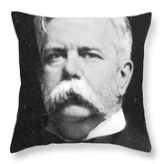 George Westinghouse (1846-1914) Throw Pillow