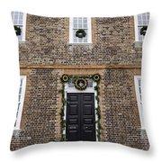 George Wythe House Williamsburg Throw Pillow