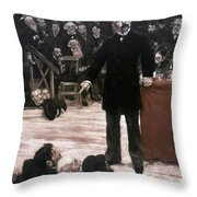 Georges Clemenceau (1841-1929) Throw Pillow